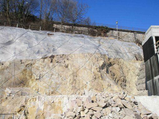 """Sistemazione fronti scavi, Renon, zona residenziale """"Huberweide"""""""