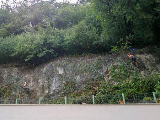 Steinschlagschutz, Margreid