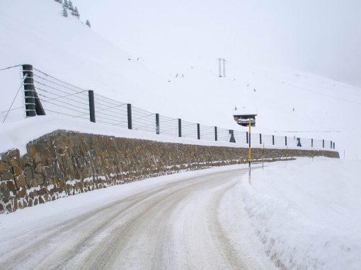 Protezioni valanghe, Passo Giovo, SS 44